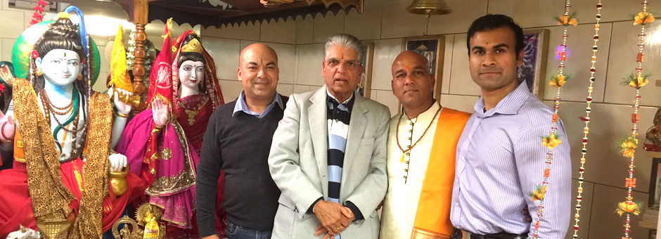 Mahasabha bezoekt de Shri Shiv Mandir Rotterdam