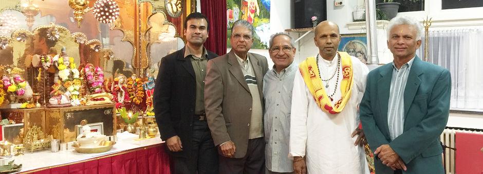 Shri Shiv Mandir in Eindhoven bezocht door Masabha