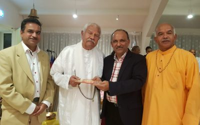 Mahasabha bezoekt de Shri Radha Krishna Mandir in Osdorp