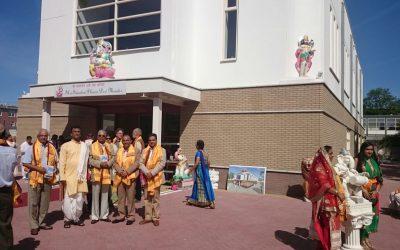 Opening van de nieuwe Dew Mandir in Den Haag