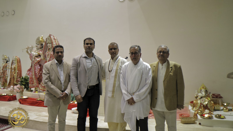 Mahasabha doet mee aan Navratri in de Shri Krishna Mandir Osdorp